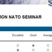 Awesome NATO Seminar Evaluation
