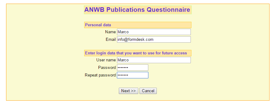 Have your form users keep their submitted form entries updated one visitor multiple forms altavistaventures Choice Image