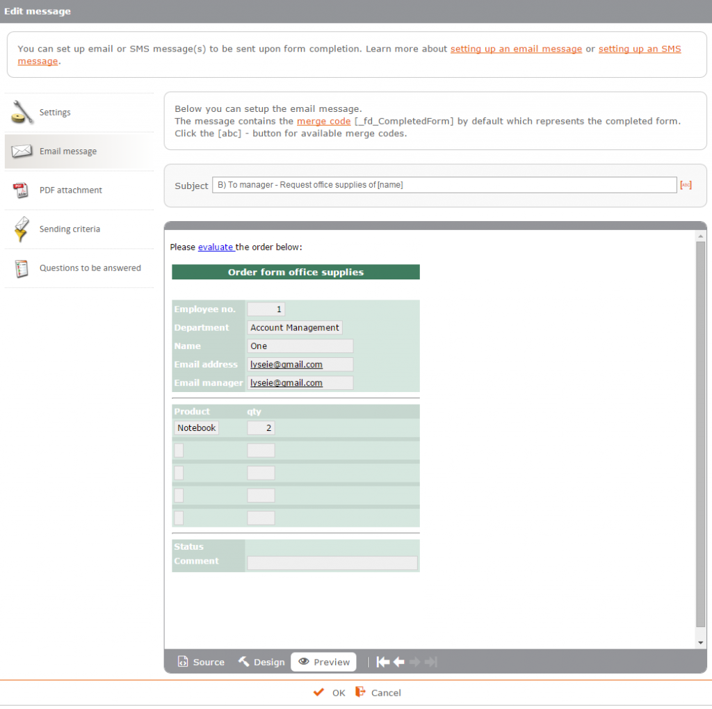 Support your business processes with workflow on your approval forms screenshots nvjuhfo Gallery